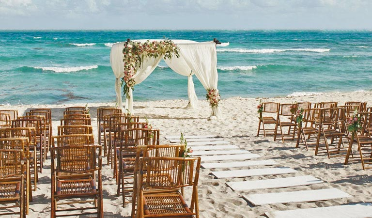 Services Available for Beach Weddings